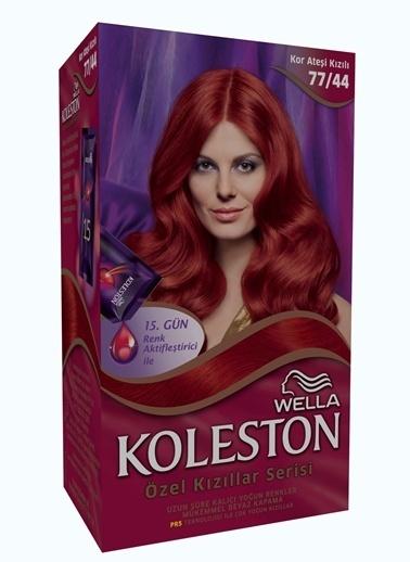 Koleston Koleston Kit Saç Boyası 77/44 Kor Ateşi Kızılı Renkli
